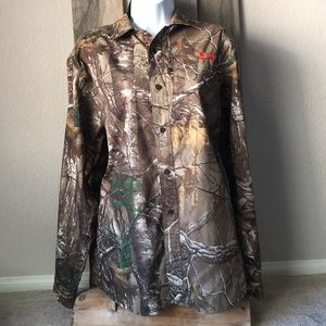 Under Armour Realtree Extra Button Up Shirt